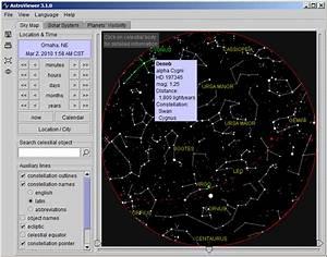 Manual Interactive Night Sky Map