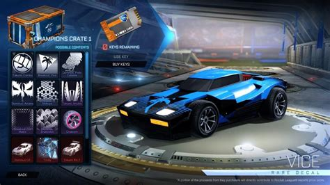 My Rocket League Cars Preset