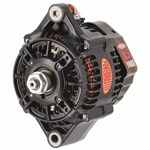 Powermaster Black Denso Xs Volt Race Alternator 160 Amp 1
