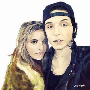 Juliet Simms and Andy Biersack by bataoza on DeviantArt