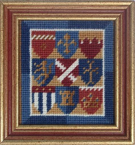 tapestry  needlepoint kits mini medieval collection