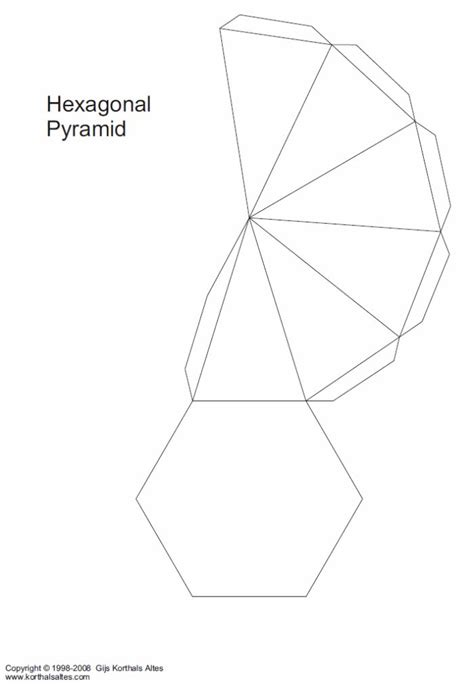 paper models  multi side base pyramids paper models pyramids pyramid box