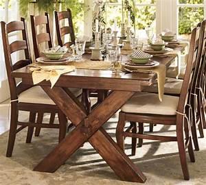 dining room table pottery barn marceladickcom With barn board dining room tables