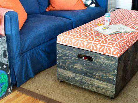 navy blue storage ottoman makeherringbone wood toy box storage ottoman 2017 with