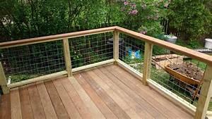 plastic exterior simple banister deck railing ideas