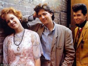 molly ringwald on cbs this morning jon cryer recreates his duckie dance from pretty in pink