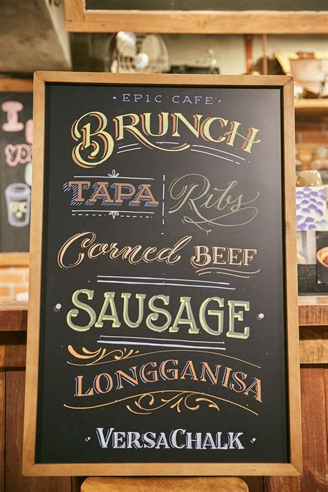 top  chalkboard fonts  professional lettering