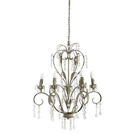 lustre chambre ado fille lustre à pilles en métal beige d 70 cm elisabeth