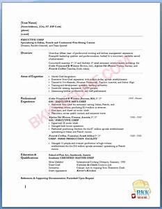 pin sample chef resume on pinterest With executive chef resume template
