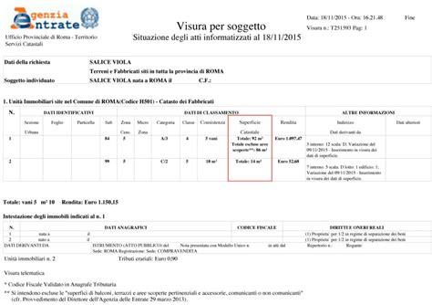 Visure Catastali Gratis Per Codice Fiscale by Le Visure Catastali Home Catasto Visure Mappe E Visure