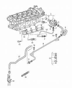 2011 Audi A3 Fuel Line
