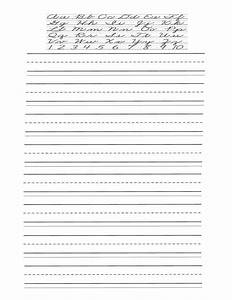 worksheet cursive alphabet worksheet grass fedjp With write a letter and print online