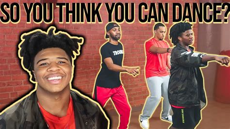 Famous Josh Price Teaches Us How To Dance  Vlogmas Day 6