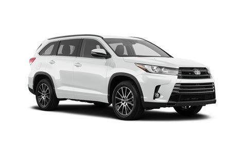 Toyota Lease Deals by 2019 Toyota Highlander Lease Best Car Lease Deals