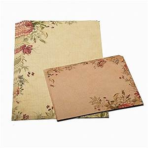 30 sheet vintage stationery sets with envelopes for With letter sheets and envelopes
