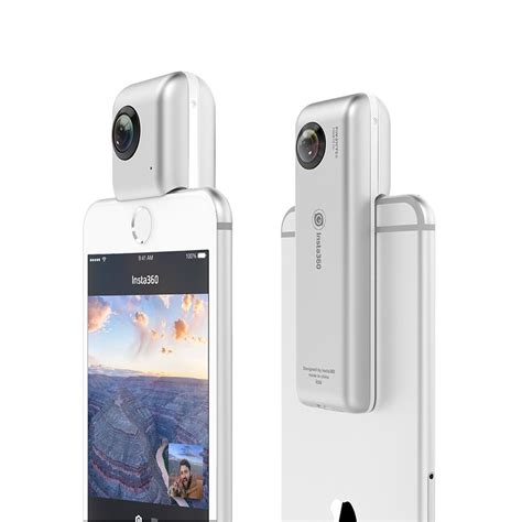 iphone nano insta360 nano brings vr shooting to your iphone newsshooter