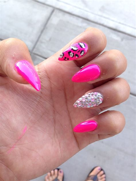 pointed nail designs musely