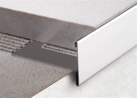 tile stair nosing profile bordertec bsr new reversible edge profile ceramic