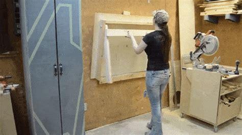 space saving fold  workbench