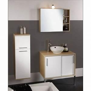 armoire salle de bain porte coulissante With meuble de salle de bain porte coulissante