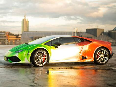 Is This Tricolor Wrap On A Lamborghini Huracan The Best