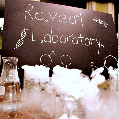 readers favorite science themed gender reveal project