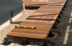 Plot Plastique Terrasse : plots pvc terrasse bois ~ Edinachiropracticcenter.com Idées de Décoration