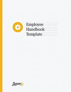 Free employee handbook template lessonly for Employees handbook free template