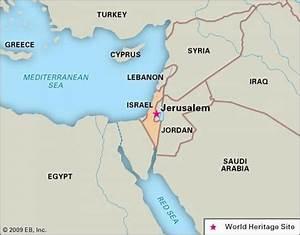 Jerusalem On A Map