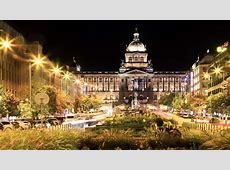 Wenceslas Square in Prague hostiry, terraces, shopping