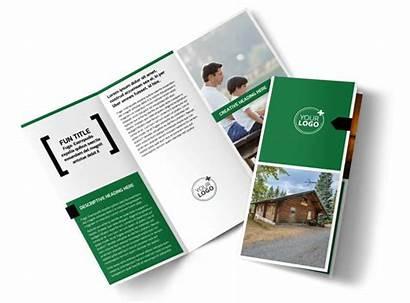 Brochure Fishing Lodge Template Templates Brochures Mycreativeshop