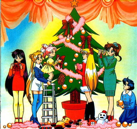 moonkittynet sailor moon christmas special images page