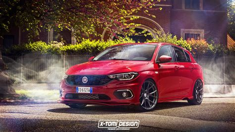 New Fiat Tipo Hatchback Gets Rendered As Something Sporty