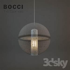 D models ceiling light bocci lighting