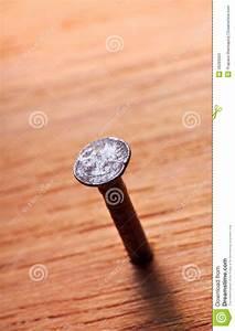 Rusty Metal Nail Stock Photos - Image: 26393963