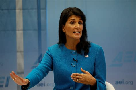 Nikki Haley Denies Rumors, Says She Doesn't Want To Be