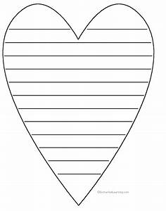 Shape poems enchantedlearningcom for Heart shaped writing template