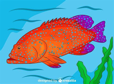 grouper vector spotted creazilla