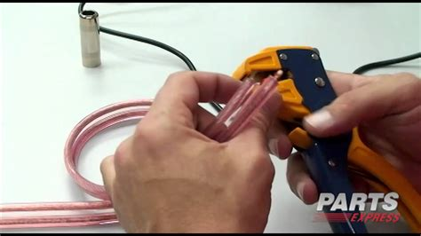 Wiring Speaker Cord 1 4 by How To Make A 1 4 Quot Speaker Cable
