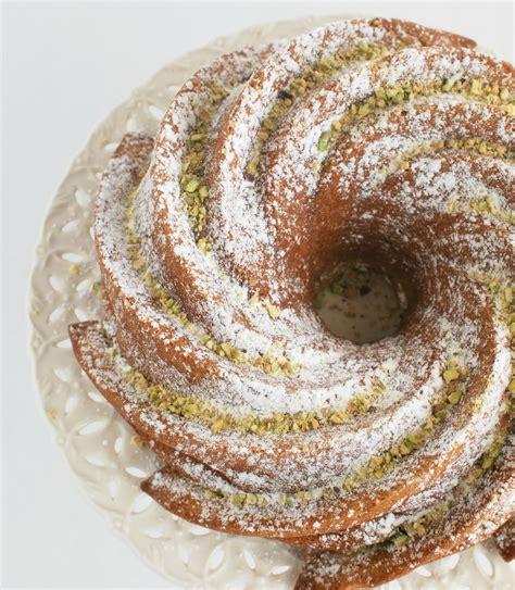 pistachio bundt cake buttercream bakehouse  taste