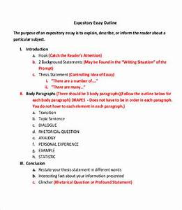 Outline of expository essay critiquing qualitative research essay