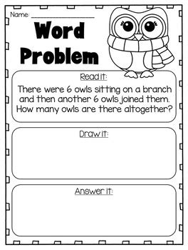 1st grade math worksheet addition word problems addition and subtraction word problems to 20 grade