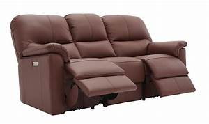 G Plan Chadwick Three Seater Double Manual Recliner Sofa