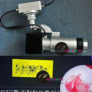 Free shipping w led small gobo lights projector