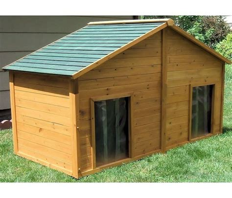 awesome duplex dog house plans  home plans design