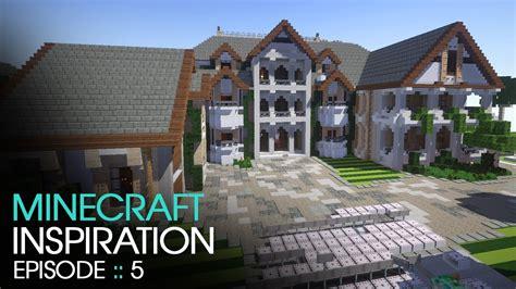 minecraft inspiration  keralis mansion  youtube