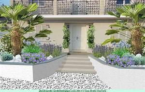 fleurir une facade de maison exemple avec plan With exemple de jardin de maison