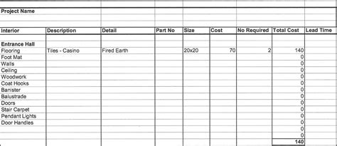 costing spreadsheet template spreadsheet templates
