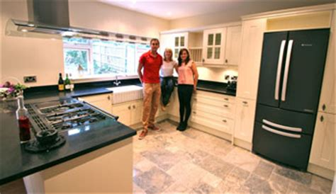 granite transformations showcases its products on kitchen