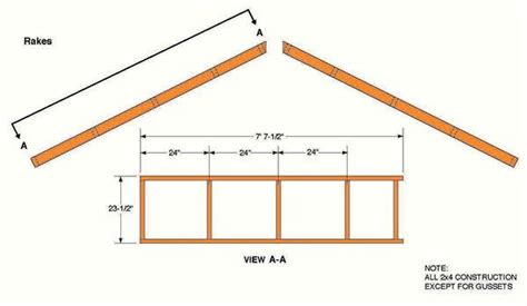 10x12 Gable Storage Shed Plans by 10 215 12 Storage Shed Plans Blueprints For Constructing A